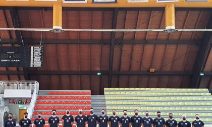 Pallavolo lariana primi allenamenti della Libertas Cantù al PalaFrancescucci