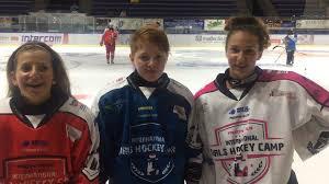 Hockey Como al centro la lariana Matilde Fantin in nazionale U18