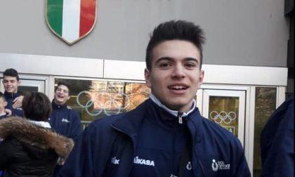 Volley lariano il 15enne brianzolo Mattia Brienza in raduno con l'Italia Allievi