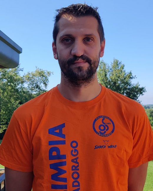 Volley lariano Mauro tettammati torna all'Olimpia Volley Cadorago