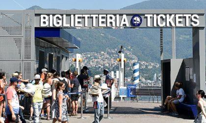 Navigazione Lago di Como, niente più code per il biglietto: l'acquisto si prenota con l'app