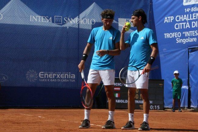 Tennis como i cugini Andrea E Federico Arnaboldi al via