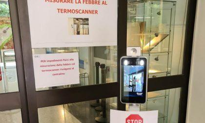 Donato un termoscanner all'ospedale di Menaggio per la misurazione automatica della febbre