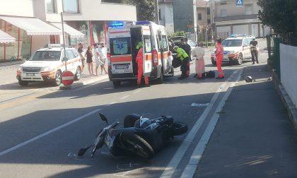 Incidente a Olgiate: terribile schianto tra auto e moto, grave 19enne