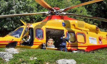Paura per un bimbo di 5 anni al rifugio Terz'Alpe: arriva l'elisoccorso