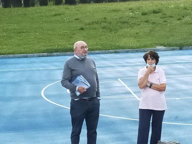 albese volley Presidente Graziano Crimella
