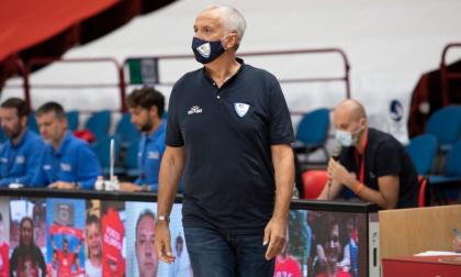 Pallacanestro Cantù il commento di coach Pancotto dopo il Forum