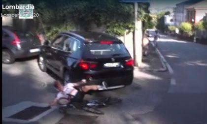 Ciclista investito da un Suv durante il Giro di Lombardia: la ricostruzione della dinamica