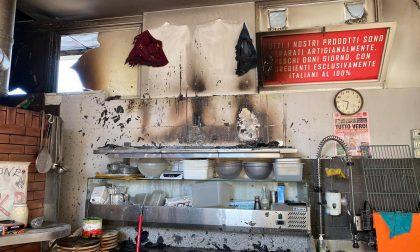 Incendio in pizzeria: oltre 10mila euro di danni