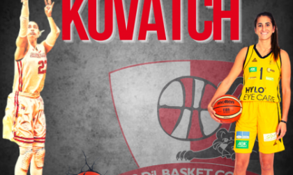 Basket femminile, la bomber USA Jessica Kovatch arriva a Costa Masnaga