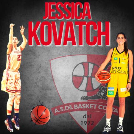 Basket femminile Jessica Kovatch a Costa