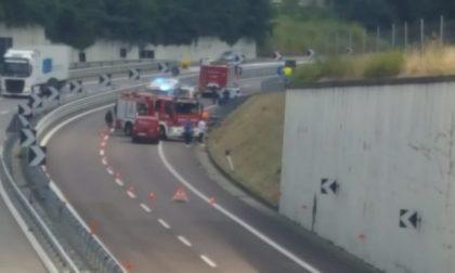 Incidente in Milano-Meda arriva anche l'elisoccorso