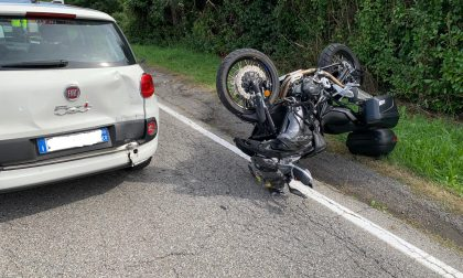 Incidente a Villa Guardia feriti due motociclisti FOTO e VIDEO