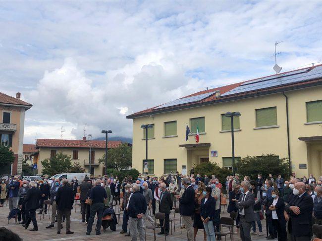 funerale emilio russo a Ronago