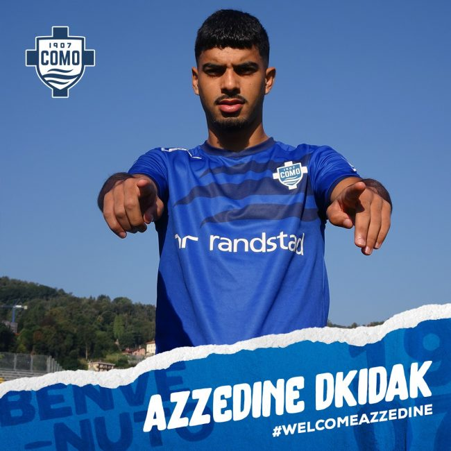 Como calcio Azzedine Dkidak