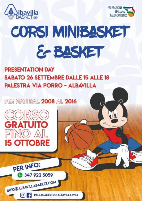 Basket lariano Albavilla Corsi