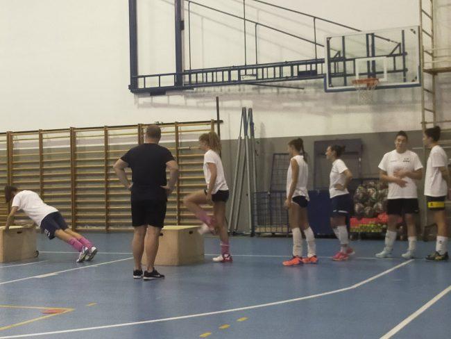 Albese Volley al lavoro con preparatore