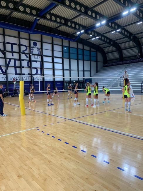 albese volley rimo test a milano