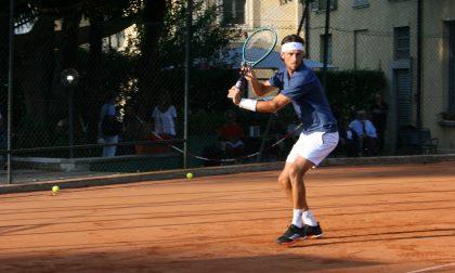 Tennis lariano Andrea Arnaboldi in campo per centrare la finale del Challenger di Parma