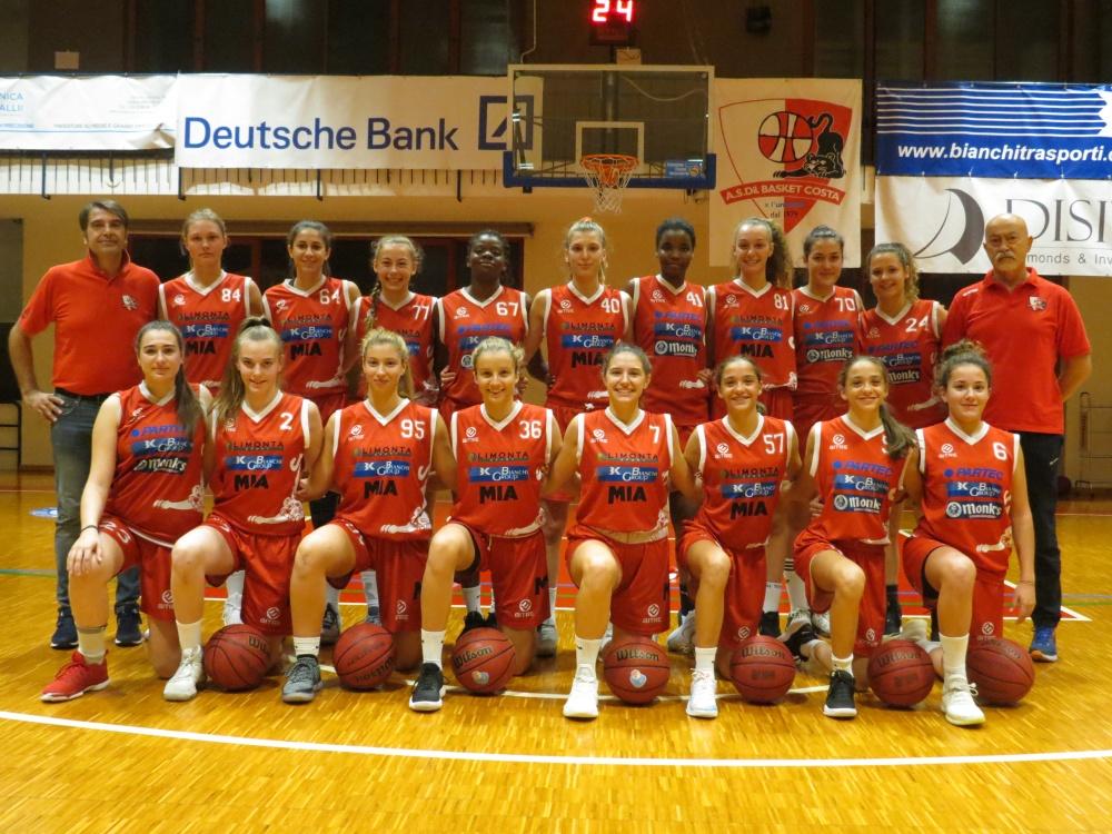 Basket femminile Costa serie B
