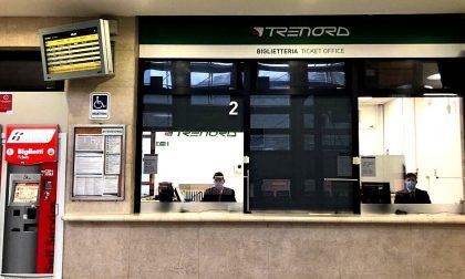 Alla stazione di Como San Giovanni riapre la biglietteria