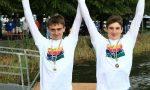 Canottieri Cernobbio, i fratelli Luca e Giovanni Borgonovo campioni regionali