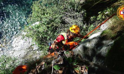 Incidente in montagna a Lezzeno: salvato un 74enne SIRENE DI NOTTE