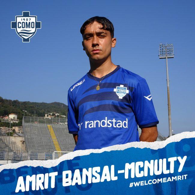Como calcio Amrit Bansal-McNulty