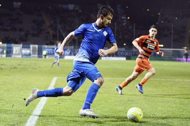 Como calcio Enrico Celeghin