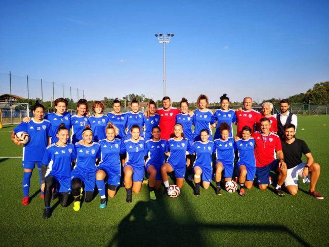Calcio femminile zanetti visita la Como Women