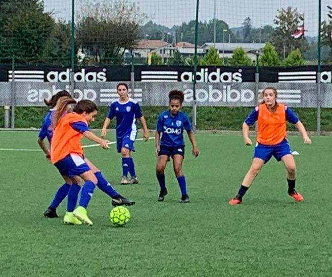 Calcio femminile Como Women Giovanissime