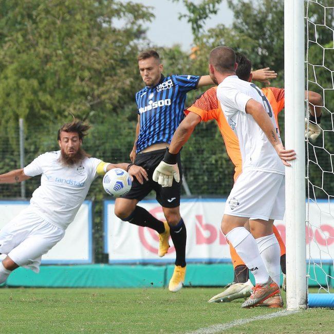 Como calcio amichvole con Atalanta