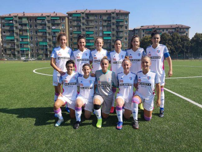 Calcio femminile Como women prima amichevole
