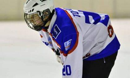 Hockey Como i lariani avanti per un tempo poi s'arrendono al Valdifiemme