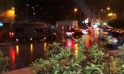 Autostrada A9 chiusa per lavori e a Ponte Chiasso è caos traffico