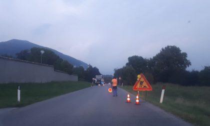 Lavori sulla provinciale: automobilisti in colonna