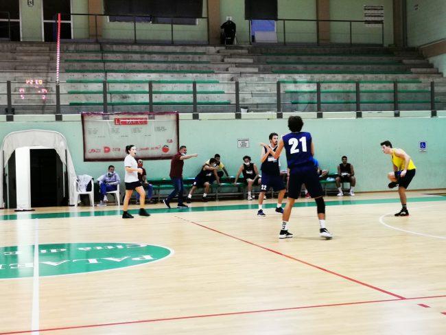 Basket C Silver Le Bocce prima amichevole