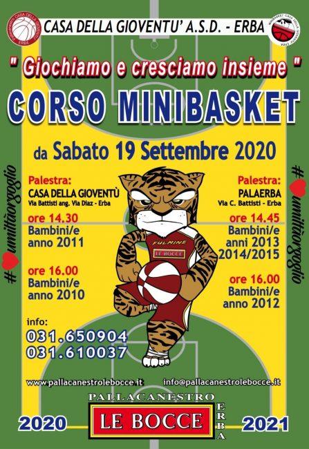basket giovanile Minibasket Le Bocce