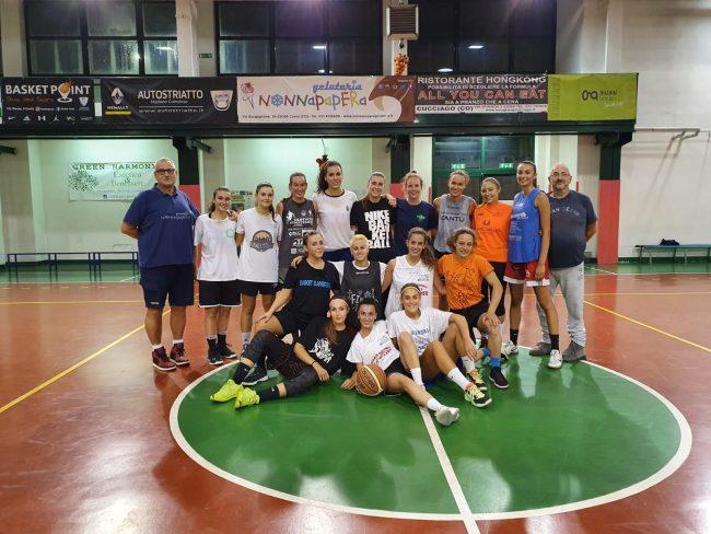basket femminile raduno Nonna Papera Mariano