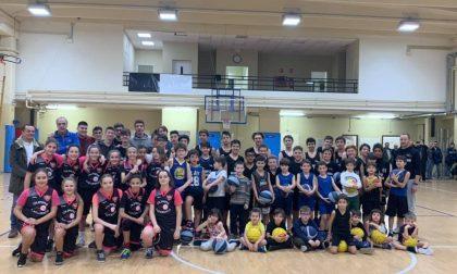"""Basket giovanile porte aperte alla """"cantera"""" dell'Olimpia Cadorago"""