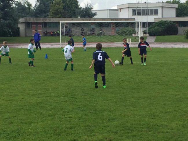 Calcio giovanile Open day a Rovellasca