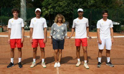 Tennis Como il circolo di Villa Olmo festeggia la promozione in serie D1