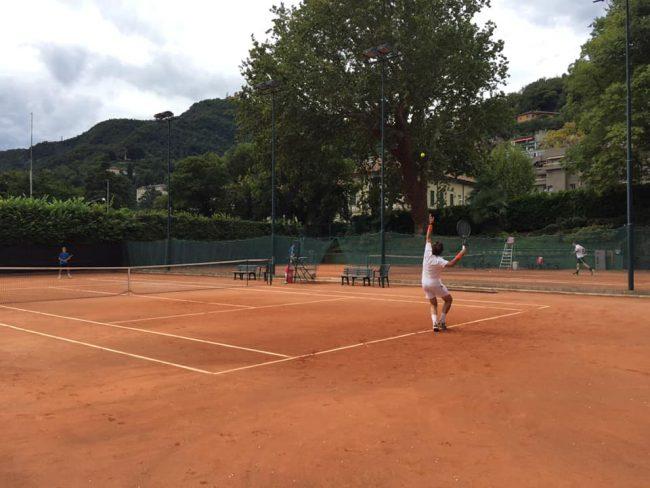 tennis como Trofeo del90°
