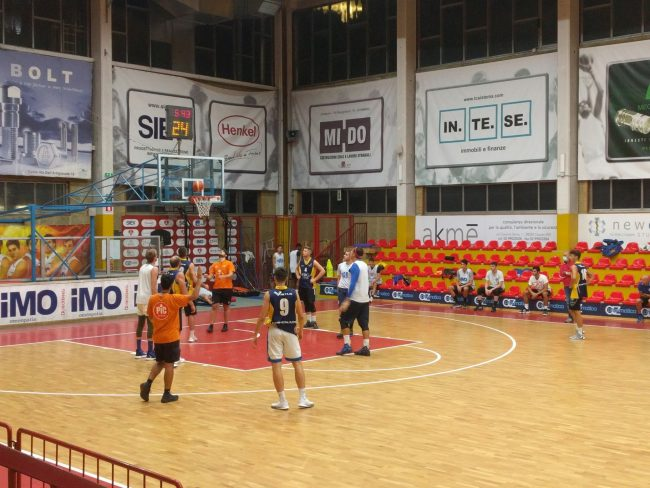 Basket serie C Gold Seconda amichevole Virtus
