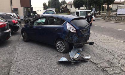 Incidente a Cantù: due feriti lievi FOTO