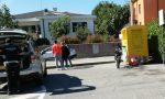 Incidente auto moto a Brenna, soccorsi in piazza Macchi