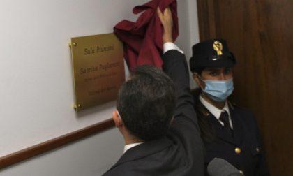 L'omaggio della Polizia di Stato a Sabrina Pagliarani, vittima del dovere