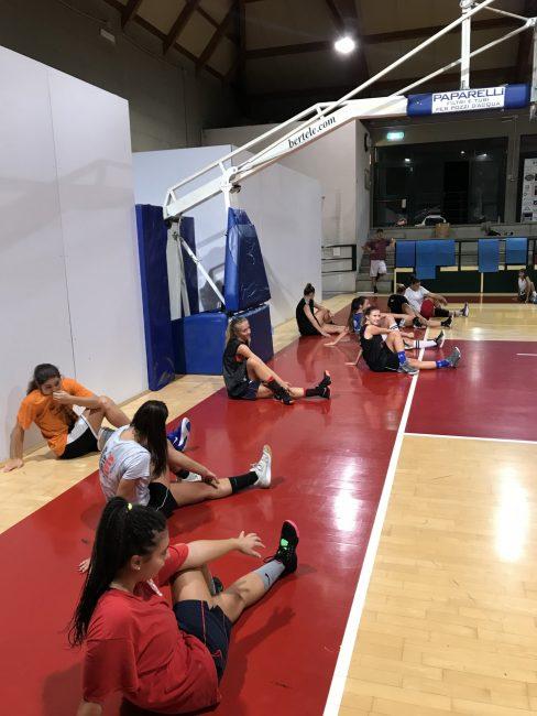 Basket femminile Btf raduno