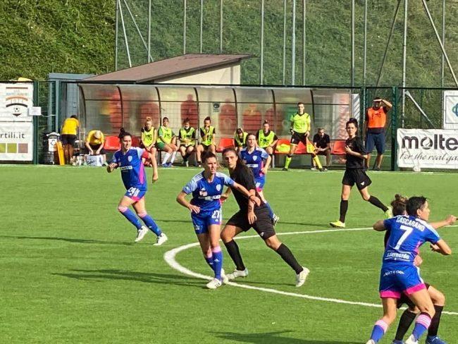 Calcio femminile Como Women roma