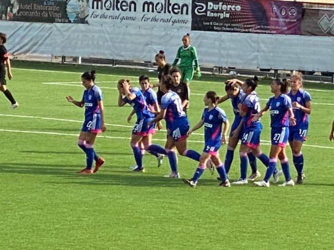 Calcio femminile Como Roma